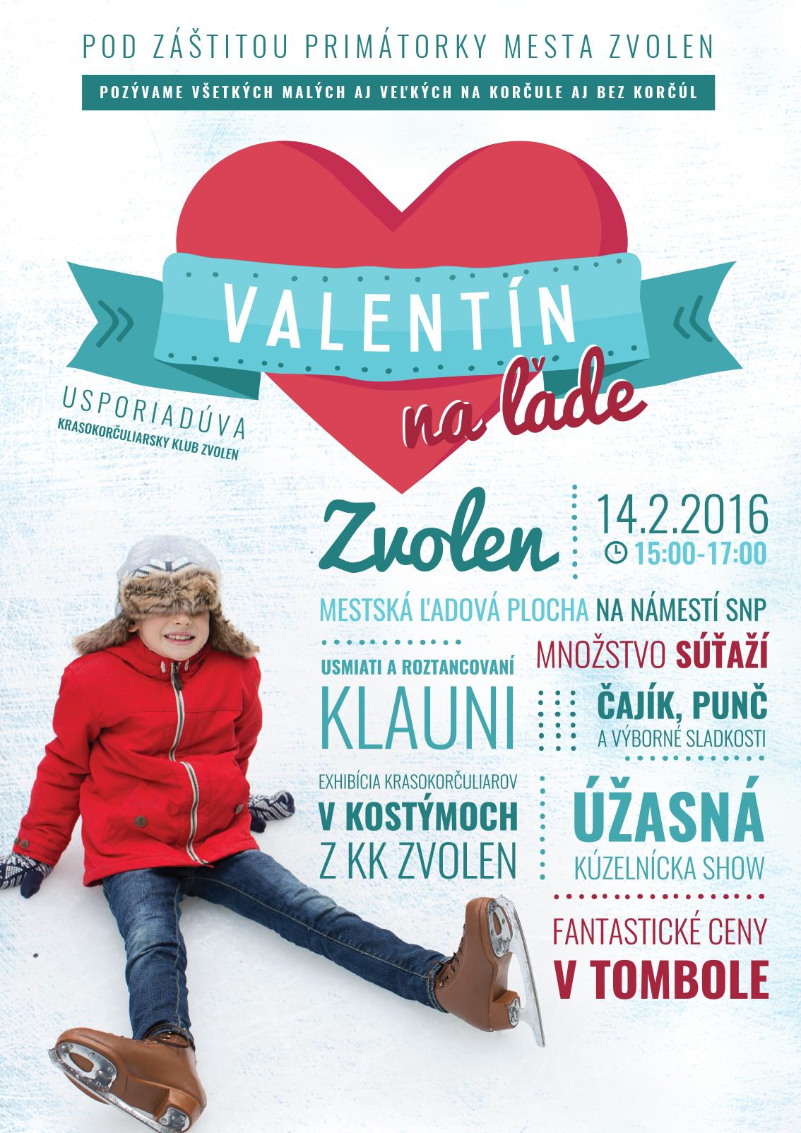 Valentín na ľade